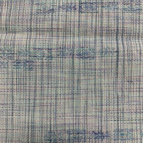 【はぎれ】浅葱色・交織50㎝(2107012-1)
