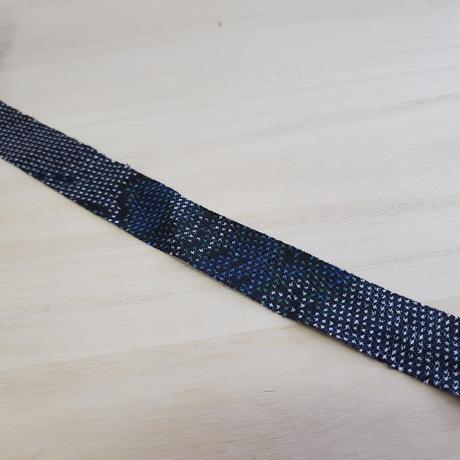 藍色に青・緑の柄2m(10046)