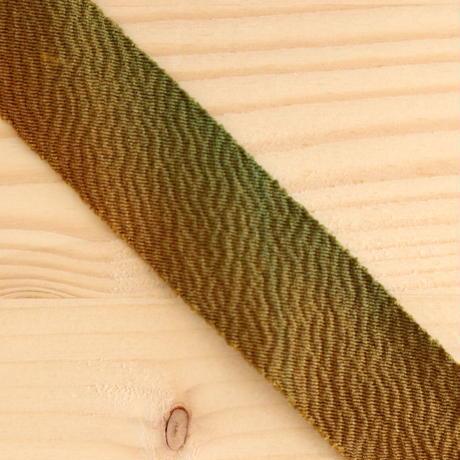【10m】赤茶~黄~緑のグラデーション・縮緬10m(10102)