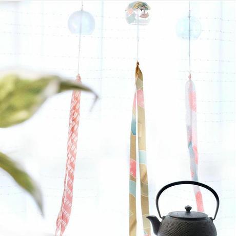 キモノヤーンの風鈴キット(3個セット)
