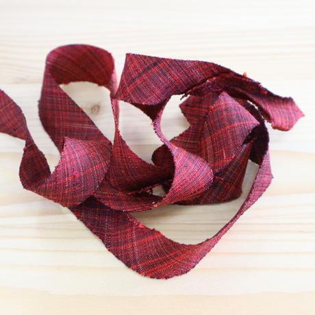 赤と黒の紬2m(2004093)