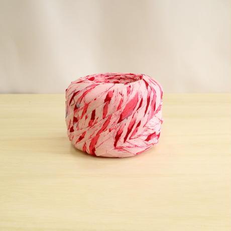 桜色~薄紅色の抽象模様・化繊(732)