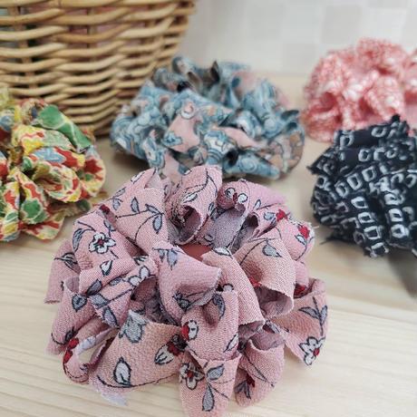 【編み物キット】お花のバッグチャームキット10種