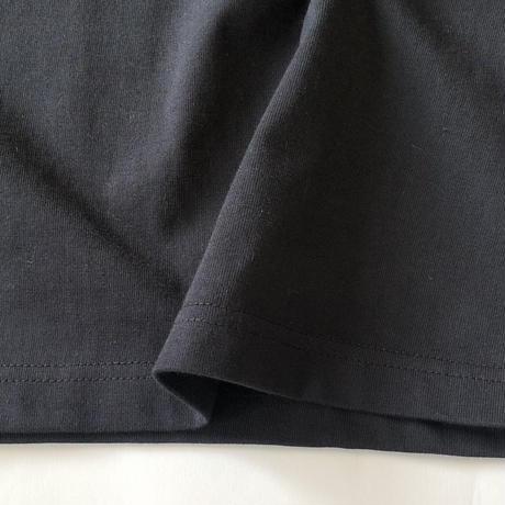 アガベ'ピンキー 'プリントTシャツ ブラック*oneno*