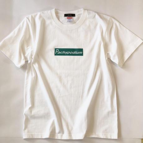PachypodiumオリジナルロゴプリントTシャツ ホワイト*oneno*