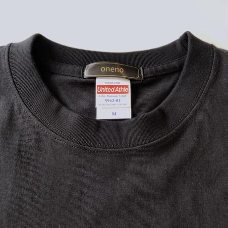 CAUDEX ロゴプリントTシャツ ブラック*oneno*