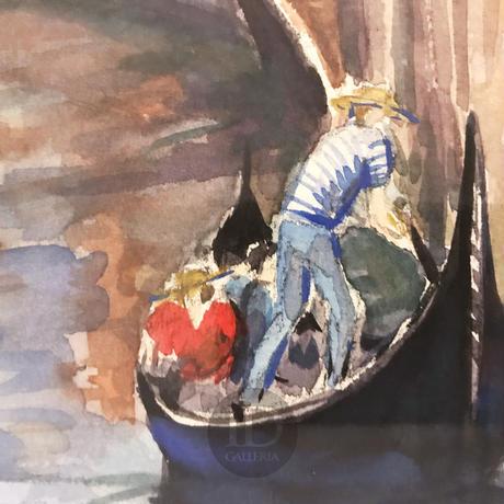 藤村サツ子「ベニスの運河」