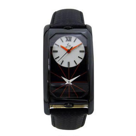 Dual Time Watch(デュアルタイムウォッチ)ブラック