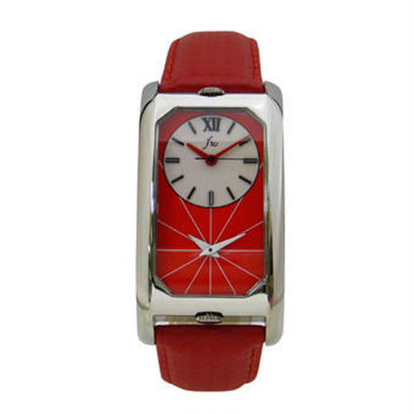 Dual Time Watch(デュアルタイムウォッチ)レッド