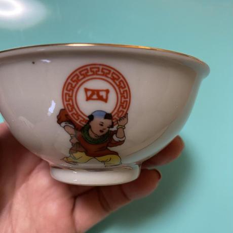 景徳鎮 四季常春 茶杯A o-016