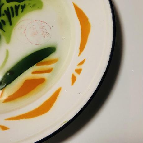 チャイナホーロープレート野菜 o-026