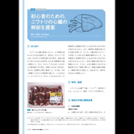 2019年9月発行号/寄稿/渡辺 採朗 氏