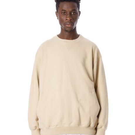 SANDINISTA-Side Pocket Sweatshirt【SAND】