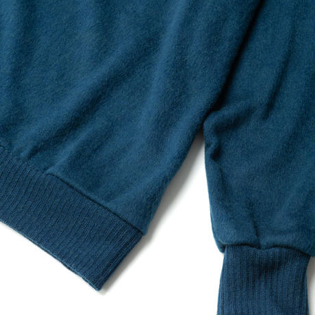 SANDINISTA-Shaggy Knit Top【DEEP BLUE】