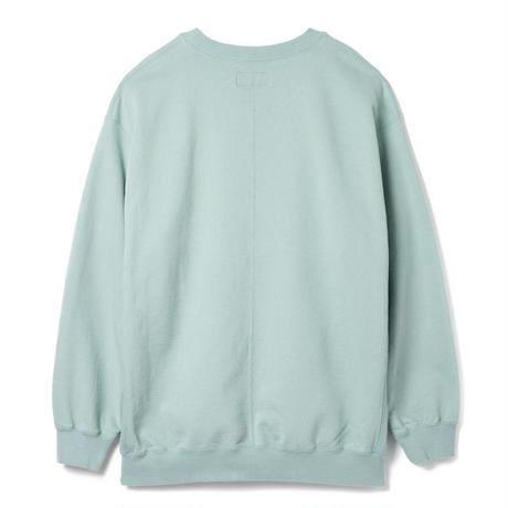 SANDINISTA-Side Pocket Sweatshirt【BLUE GREEN】