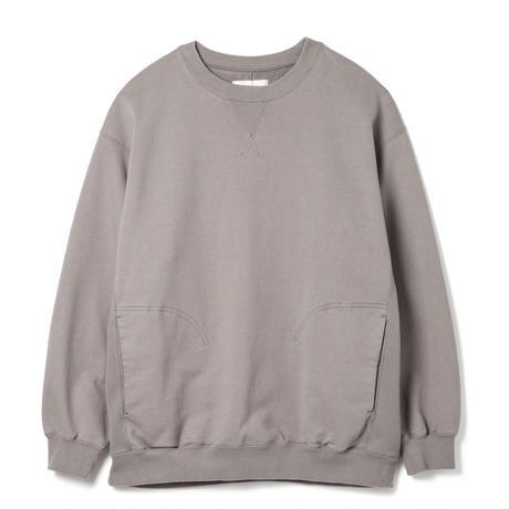 SANDINISTA-Side Pocket Sweatshirt【STONE GRAY】