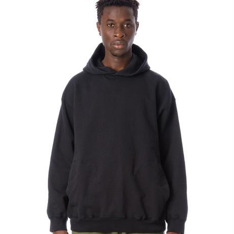 SANDINISTA-Side Pocket Hooded Sweatshirt【BLACK】