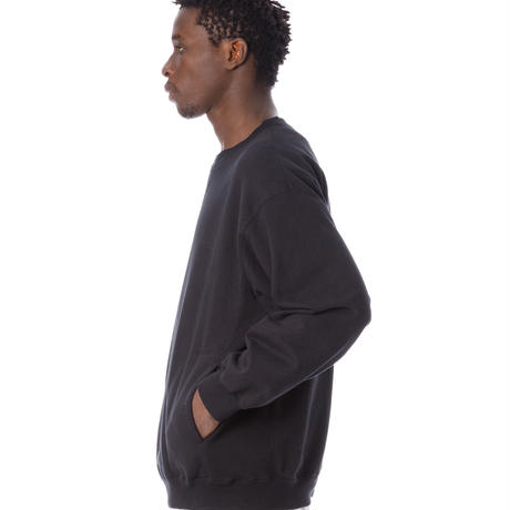 SANDINISTA-Side Pocket Sweatshirt【BLACK】