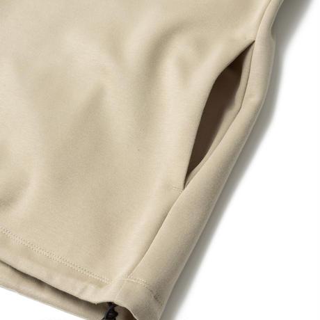 SANDINISTA-Double Knit Drawstring Pocket L-S Tee【GRAY BEIGE】