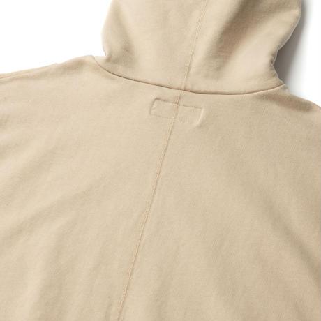 SANDINISTA-Side Pocket Hooded Sweatshirt【SAND】