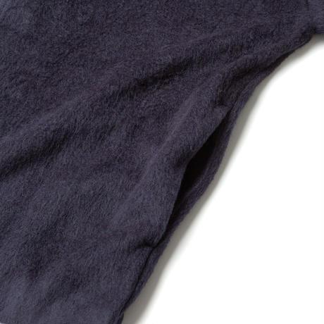 SANDINISTA-Shaggy Knit Cardigan【NAVY】
