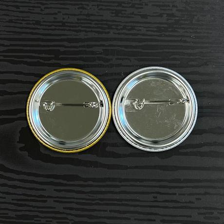 【ワクチングッズ】カラー缶バッジセット44㎜(2個入り)
