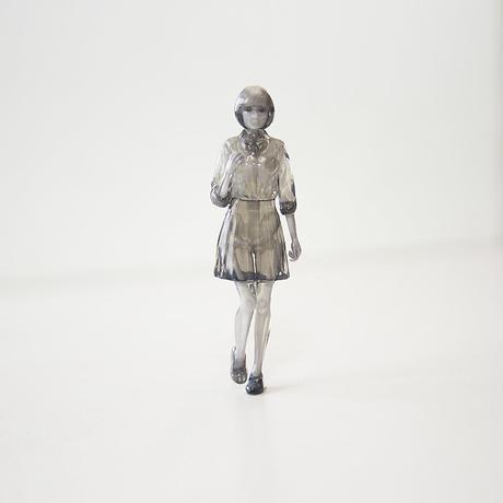 カラースケルトン女子高生(10㎝)