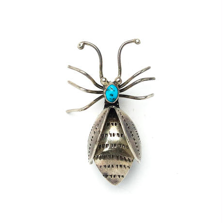 Bugs Turquoise Pin