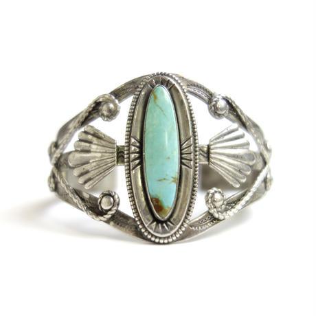Twinkle Lasso Turquoise Bracelet / Fred Harvey Style