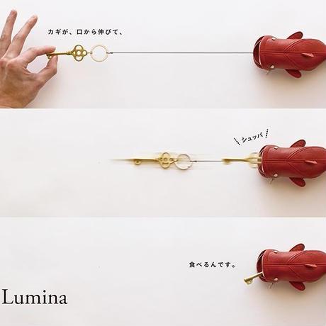 id.Lumina キーケース ジーンブルー