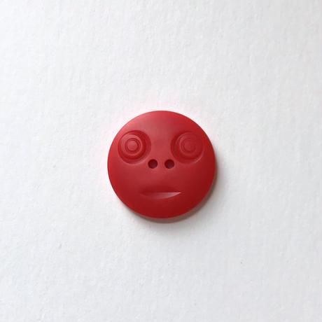 スマイルボタン ( Lサイズ レッド)