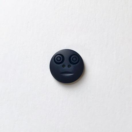 スマイルボタン ( Mサイズ ネイビー)
