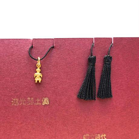 ◎イドラ的縄文展◎ 宏和産業「inishie -遮光器土偶のパーツのネックレス- 4col」