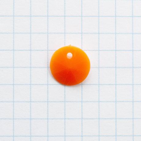 ジャパンヴィンテージ・ビーズパック(JVB343 Φ12mm オレンジ)【22個 セット】