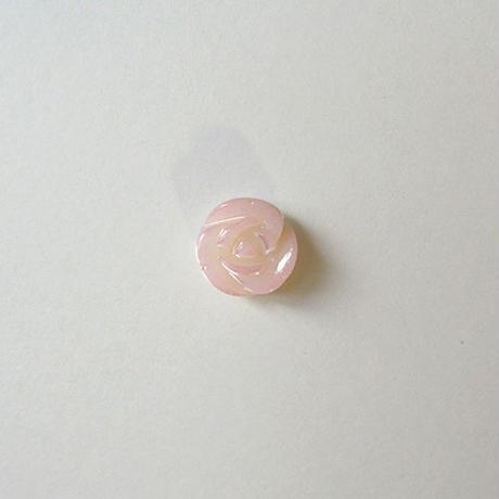 シェルローズボタン (JB106229 ピンク)