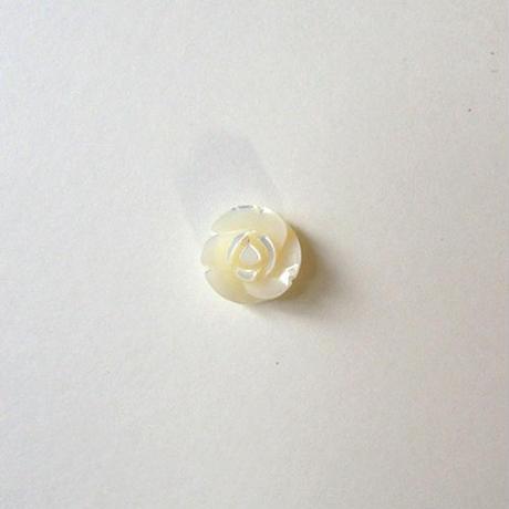 シェルローズボタン (JB105196  ホワイト)