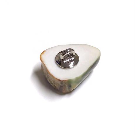 ののむらみなみ 陶器ボタン(みどりの屋根のおうち)