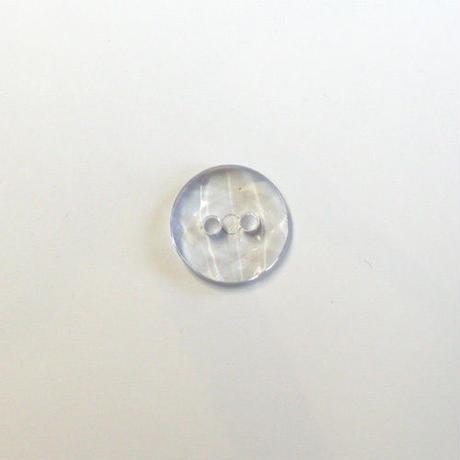 クリアカット2つ穴ボタン(JB705036  グレー)【2個セット】