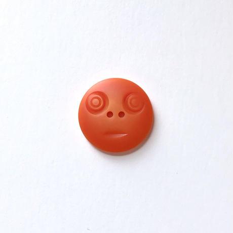 スマイルボタン ( Lサイズ オレンジ)