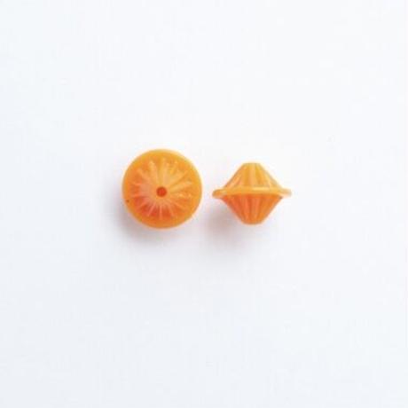 ジャパンヴィンテージ・ビーズパック(JVB344 オレンジ)【20個 セット】