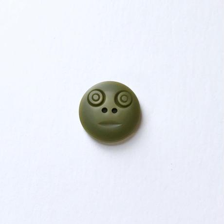 スマイルボタン ( Mサイズ カーキ)