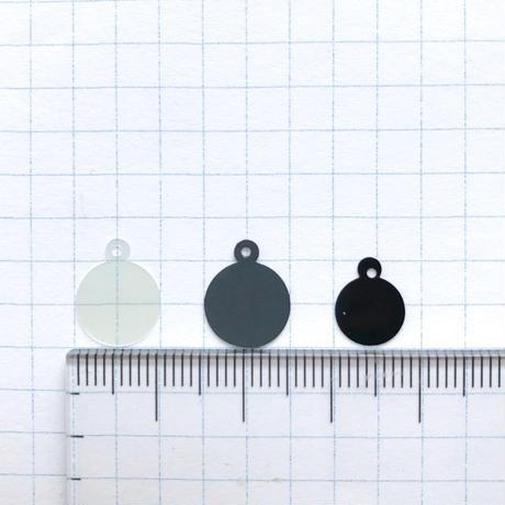 カン付きスパンコール 12×10mm(FFS054  オーロラ)【20枚セット】