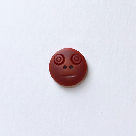 スマイルボタン ( Mサイズ ブラウン)