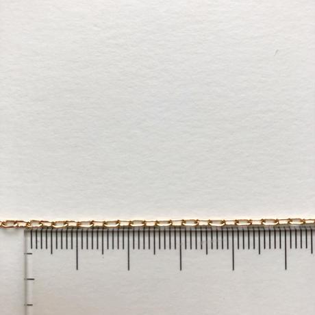 カラーアズキチェーンネックレス(ゴールド)【70cm】