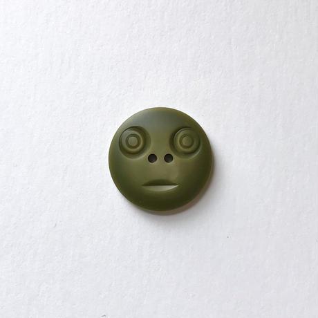 スマイルボタン ( Lサイズ カーキ)