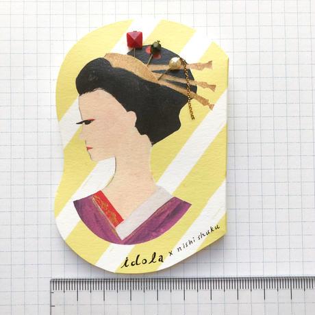 西淑 × idola  まち針 (6本セット)