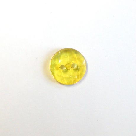 クリアカット2つ穴ボタン(JB705036 イエロー)【2個セット】