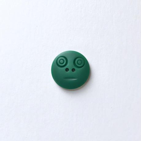 スマイルボタン ( Mサイズ エメラルド)