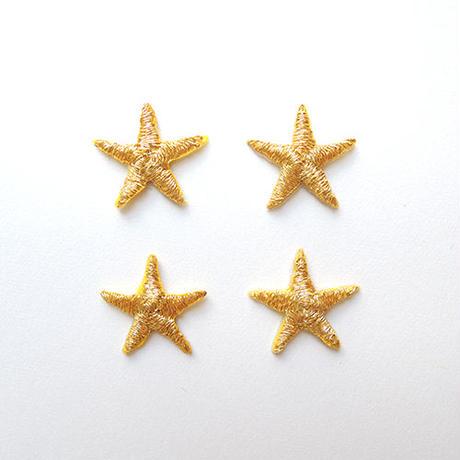 星 S(ワッペン)【4枚セット】