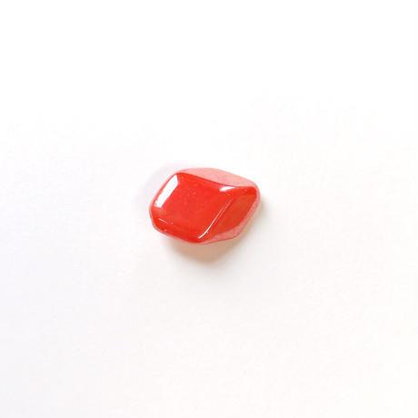 変形スクエアビーズ(FJ235 オレンジ) 【2個セット】